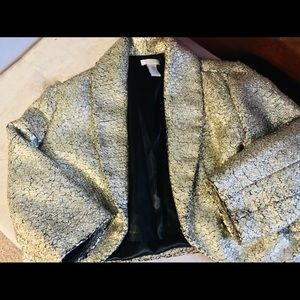 Chico's Gold Evening Shrug